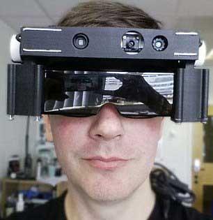 اخبار,اخبار علمی,عینک فضایی، نابینایان را بینا میکند