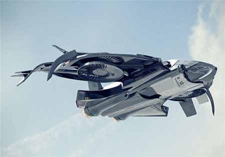 اخبار,اخبار علمی,طراحی هواپیمایی با الهام از فیلمهای علمی ـ تخیلی, http://www.mihanfaraz.ir/post/998