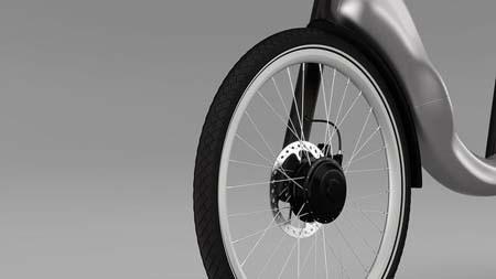 اخبار , اخبار علمی,تصاویری از دوچرخه های تاشو,دوچرخه الکتریکی تاشو