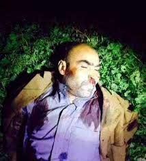 جسد سرکرده داعش