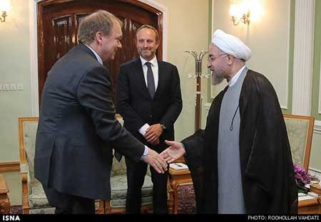 اخبار,اخبار سیاست خارجی ,دیدار وزیر خارجه دانمارک با رییس جمهور
