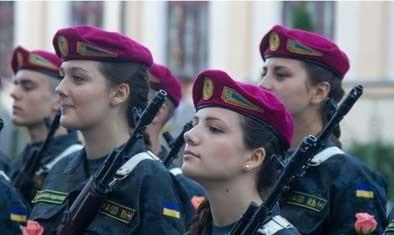 اخبار,اخبار گوناگون,عکسهایی از سربازان زن اوکراینی