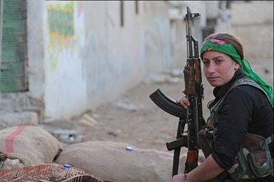 اخبار,اخبار بین الملل,جنگجویان زن کوبانی