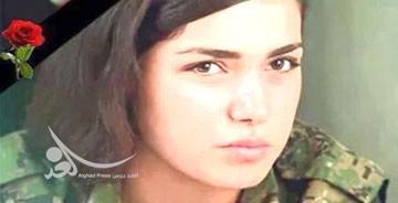 9307 8t811 خودکشی دختر کردی به دلیل حمله داعش همراه با عکس