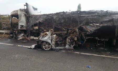 اخبار,اخبارحوادث,تصادف زنجیره ای مرگبار در یونان