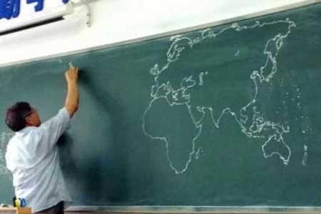 عکس کره زمین واقعی