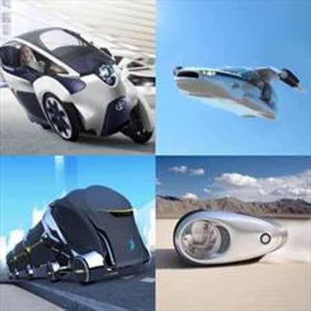 وسایل حمل و نقل آینده را ببینید/ از خودروهای همه کاره تا قطارهای عجیب