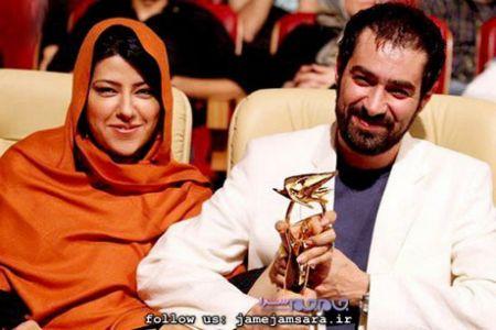 اخبار,اخبار بازیگران,شهاب حسینی و همسرش