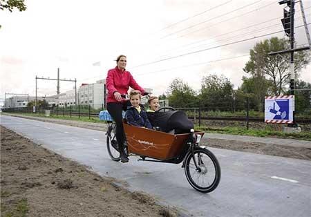 اخبار,اخبار علمی ,پیست دوچرخه سواری خورشیدی