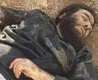 فوری/ انتشار عکس جسد خلیفه داعش؟