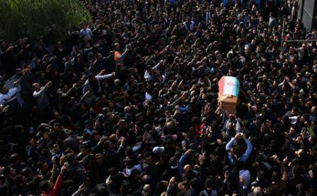 مراسم تشییع مرتضی پاشایی (تصاویر)