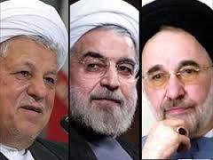 93 09 171 خاتمی ،هاشمی و روحانی مثلث طلاییانتخاباتمجلس