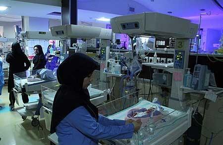 (تصاویر) تولد شش قلوها در مشهد