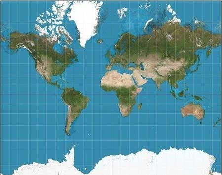 اخبار,اخبار علمی , نقشه کرهزمین