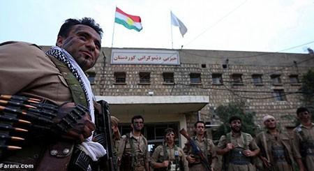 اخبار,اخبار بین الملل,تمرین نظامی پیشمرگ های کرد  برای مبارزه با داعش