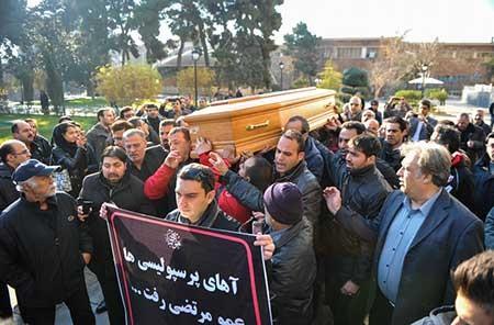 اخبار,اخبار فرهنگی ,تشییع پیکر مرحوم مرتضی احمدی