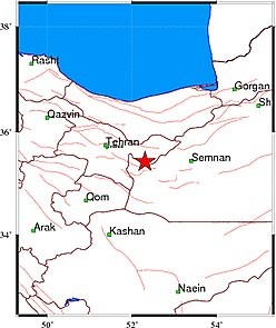 9309 11m551  زلزله تهران را لرزاند + جزئیات