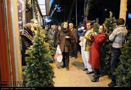 اخبار,اخبار اجتماعی,خرید سال نو میلادی در تهران