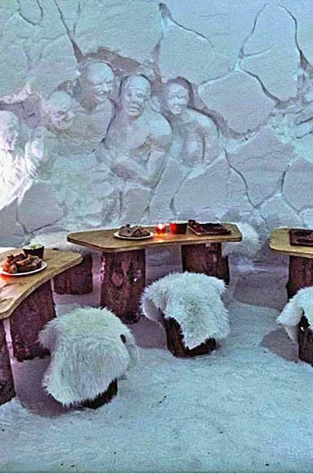 اخبار,اخبار گوناگون ,بهترین هتلهای یخی دنیا