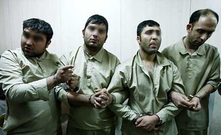 9310 11m4027 عکسهای از دستگیری راهزنان جنوب تهران