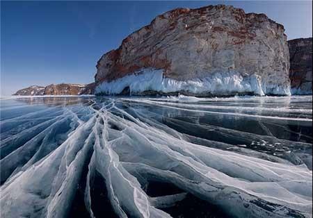 اخبار,اخبار گوناگون ,دریاچههای یخ زده
