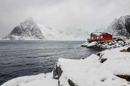 تصاویر زیباترین کلبههای زمستانی
