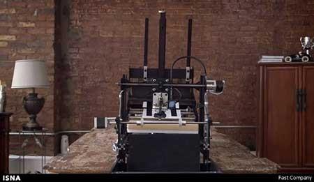 رباتی با قابلیت تقلید از دستخط