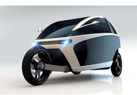 اخبار , اخبار علمی , خودروی سه چرخ الکتریکی