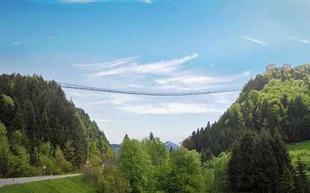 اخبار,اخبار گوناگون , دیدنیترین پلهای پیادهرو جهان