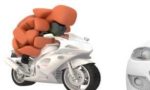 اخبار,اخبار علمی,کیسه هوایی برای موتورسواران