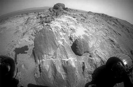 کشف سنگهای عجیب وغریب در مریخ