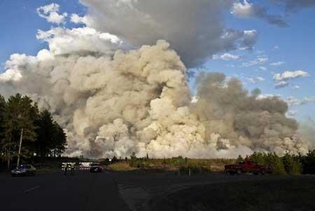 عکسهای جذاب,تصاویر جالب,آتش سوزی جنگل ها