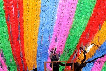 عکسهای جالب,تصاویر جالب,تزئین معبد