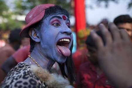 عکسهای جذاب,تصاویر دیدنی,فستیوال آیینی هندوها