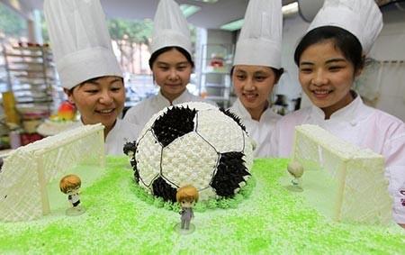 عکسهای جالب, کیک فوتبالی,تصاویر جالب