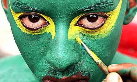 عکسهای جالب,مسابقات جام جهانی 2014 برزیل,کسهای جذاب