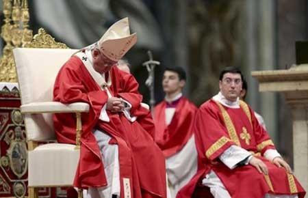 پاپ در مراسم رسمی,عکسهای جذاب,تصاویر جالب