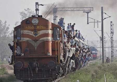 عکسهای جالب,جمعیت هند,تصاویر جالب