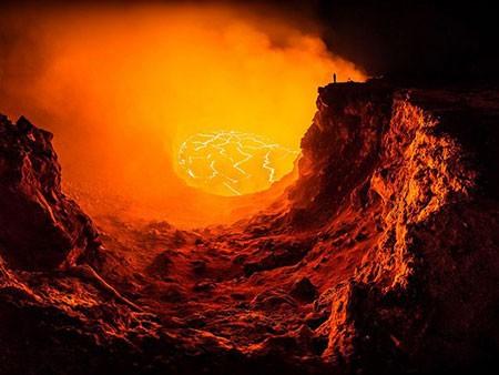عکسهای جذاب,کوه آتشفشان ,تصاویر دیدنی