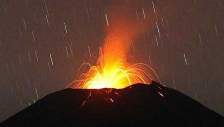 عکسهای جذاب,کوه آتشفشان,تصاویر جالب
