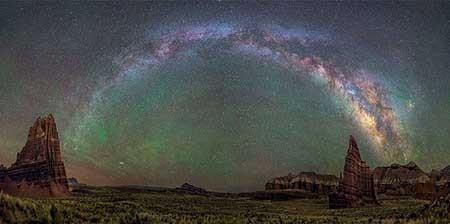 عکسهای جالب,آسمان پرستاره ,تصاویر دیدنی