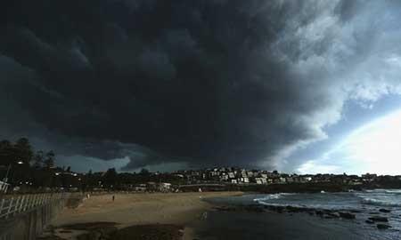 عکسهای جذاب,ابرهای توفانی,تصاویر جالب