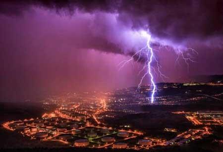 عکسهای جالب, رعد و برق,تصاویر دیدنی