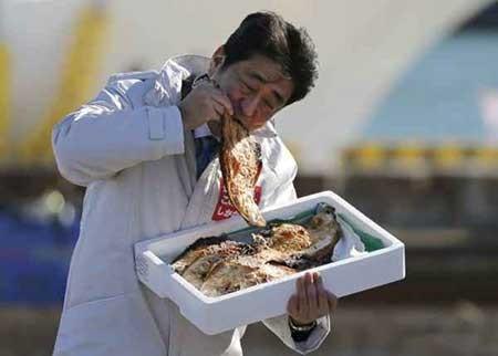 عکسهای جذاب,نخست وزیر ژاپن,تصاویر جالب