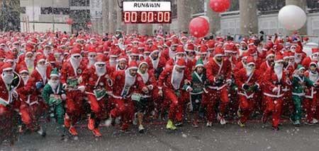عکسهای جالب,بابانوئل ,عکسهای جذاب