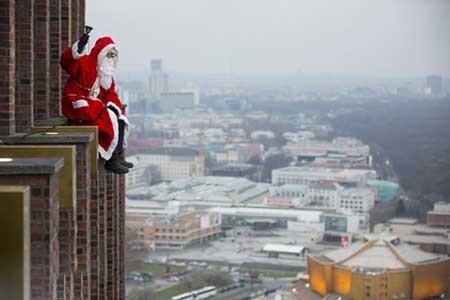 عکسهای جالب,بابانوئل,تصاویر دیدنی