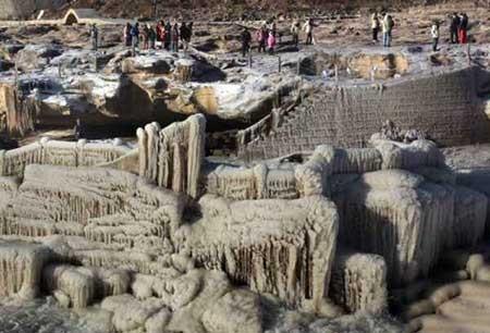 عکسهای جالب,آبشار یخ زده,تصاویر دیدنی