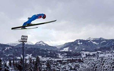 عکسهای جالب,مسابقات اسکی, تصاویر دیدنی