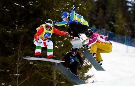 عکسهای جالب,اسکی بازی ,تصاویر جالب