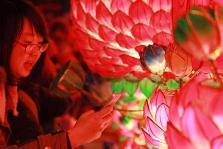 تصاویر دیدنی,تزیینات سال نو چینی,تصاویر جالب